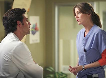 Grey's Anatomy, Patrick Dempsey, Ellen Pompeo