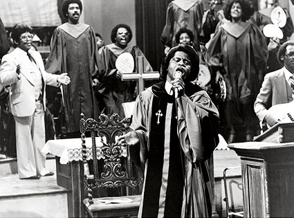 James Brown, Blues Brothers movie