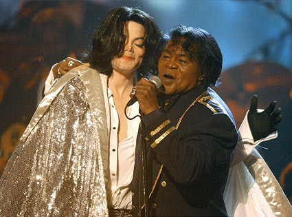 Michael Jackson, James Brown