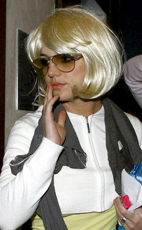 Britney Spears Blonde Wig