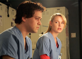 Grey?s Anatomy: T.R. Knight, Katherine Heigl