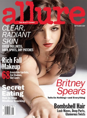 Britney Spears, Allure Magazine