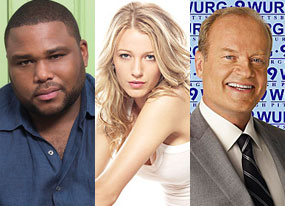 Anthony Anderson (K-Ville), Blake Lively (Gossip Girl), Kelsey Grammer (Back to You)
