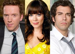 Damien Lewis (Life), Anna Friel (Pushing Daisies), Zachary Levi (Chuck)