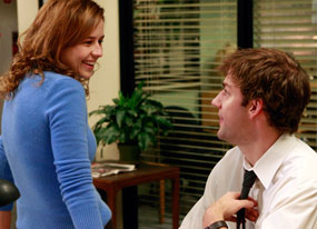 The Office: Jenna Fischer, John Krasinski