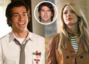 Zachary Levi (Chuck), Blake Lively (Gossip Girl), Josh Schwartz
