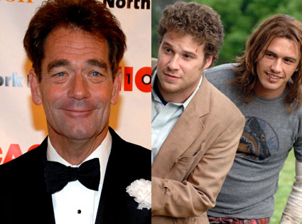 Huey Lewis, Seth Rogen, James Franco