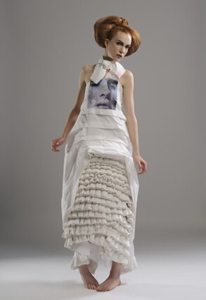 Ula Zukowska, White Cashmere Collection 2008