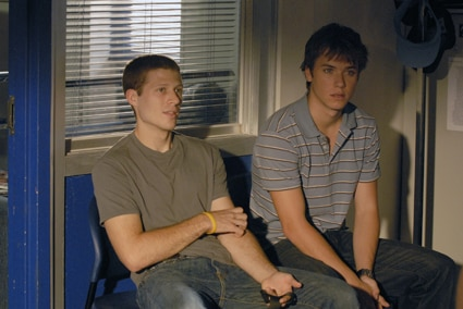Zach Gilford, Jeremy Sumpter, Friday Night Lights