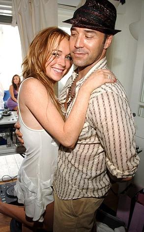 Lindsay Lohan, Jeremy Piven