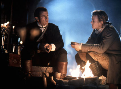 Mel Gibson, Heath Ledger in The Patriot