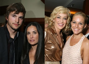 Ashton Kutcher, Demi Moore, Sharon Stone, Sienna Miller