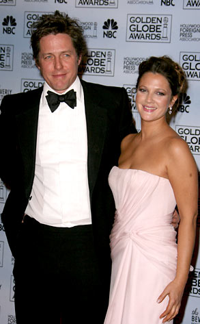 Hugh Grant and Drew Barrymore