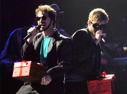 Andy Samberg, Justin Timberlake