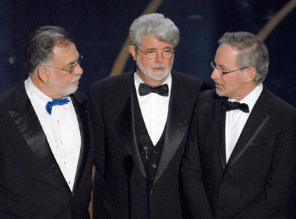 Francis Ford Coppola, George Lucas, Steven Spielberg