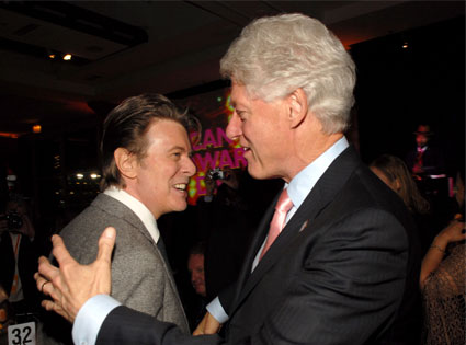 Bill Clinton, David Bowie
