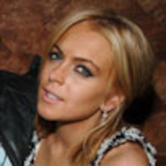 Lindsay Lohan, Calum Best, Dina Lohan