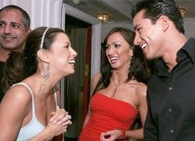 Eva Longoria, Karina Smirnoff, Mario Lopez