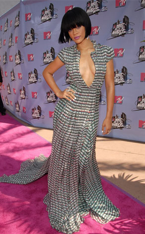 mtv awards 2007 from les 10 meilleurs looks de rihanna sur le tapis e news