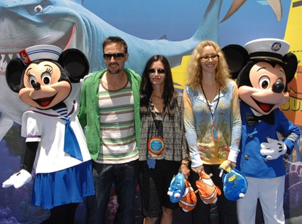 David Arquette, Courteney, Lisa Kudrow