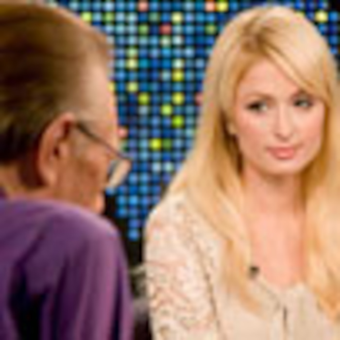 Larry King, Paris Hilton