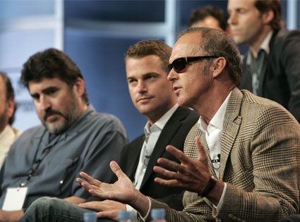 Alfred Molina, Chris O'Donnell, Michael Keaton