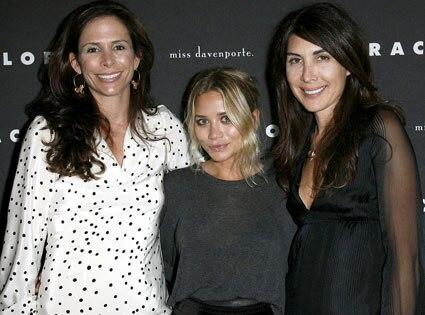 Christina Ehrlich, Ashley Olsen, Estee Stanley