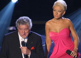 Christina Aguilera, Tony Bennett, Emmys