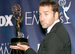 Jeremy Piven, Emmys Backstage