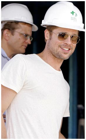 Brad Pitt, Habitat for Humanity