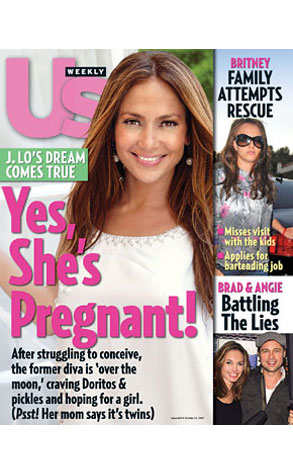 Jennifer Lopez, Us Weekly