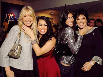 Lisa Gastineau, Kim Kardashian, Brittny Gastineau, Kris Jenner