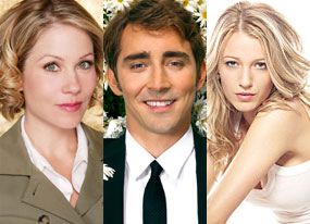 Christina Applegate (Samantha Who), Lee Pace (Pushing Daisies), Blake Lively (Gossip Girl)