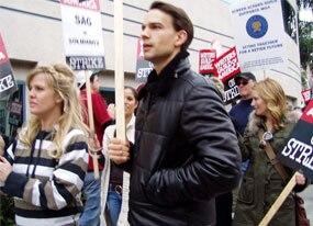 Chris Gorham, Writers' Strike