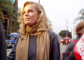 Rebecca Romijn, Writers' Strike