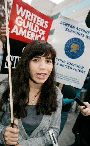 America Ferrera, Writers' Strike