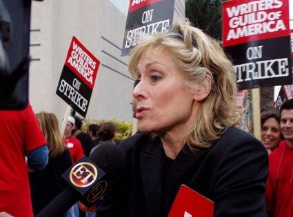 Judith Light, Writers' Strike
