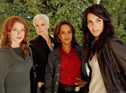 Aubrey Dollar, Laura Harris, Paula Newsome, Angie Harmon, Women's Murder Club