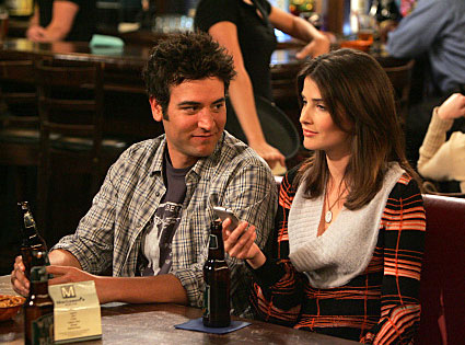 Cobie Smulders, Josh Radnor, How I Met Your Mother