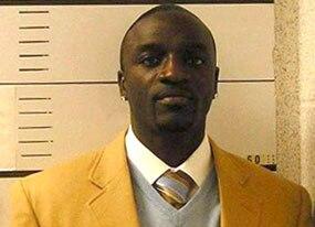 Akon, mugshot