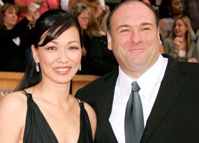 Deborah Lin, James Gandolfini