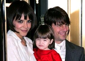 Katie Holmes, Suri, Tom Cruise