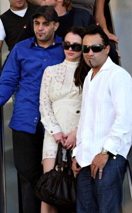 Sam Lutfi, Britney Spears, Adnan Ghalib