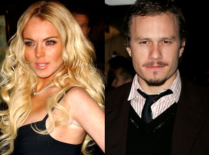 Lindsay Lohan, Heath Ledger