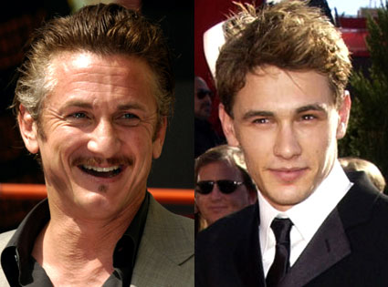 Sean Penn, James Franco