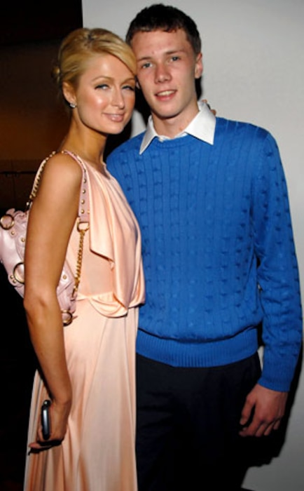 Paris Hilton, Barron Hilton