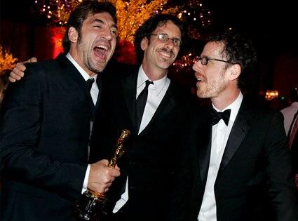 Javier Bardem, Joel Coen, Ethan Coen