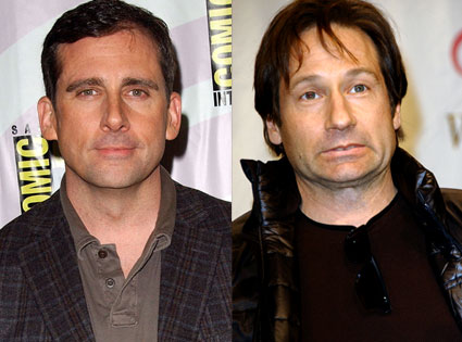 Steve Carell, David Duchovny
