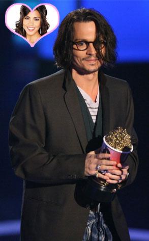 Johnny Depp, Kourtney Kardashian