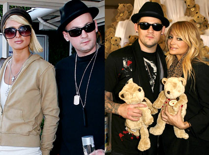 Paris Hilton, Benji Madden, Joel Madden, Nicole Richie